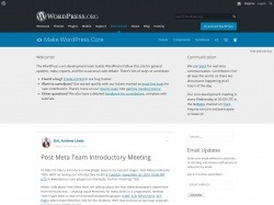 http://make.wordpress.org/core/2013/11/25/post-meta-team-introductory-meeting/
