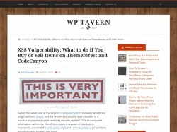 http://wptavern.com/xss-vulnerability-what-to-do-if-you-buy-or-sell-items-on-themeforest-and-codecanyon