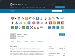 https://wordpress.org/plugins/disable-emojis/