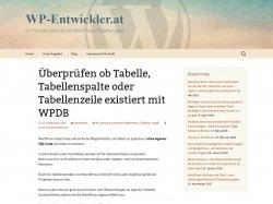 https://www.wp-entwickler.at/ueberpruefen-ob-tabelle-tabellenspalte-oder-tabellenzeile-existiert-mit-wpdb/