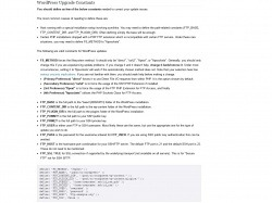 http://codex.wordpress.org/Editing_wp-config.php#WordPress_Upgrade_Constants